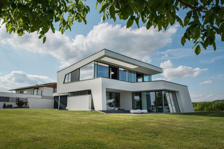 Ber ideen zu pultdach auf pinterest for Moderner baustil einfamilienhaus
