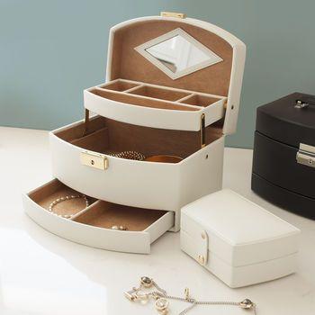 Bonded Leather Jewellery Box
