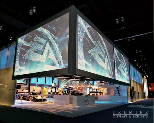 Exhibition Stand Game Ideas : Ea e expo custom trade show booth by premier displays