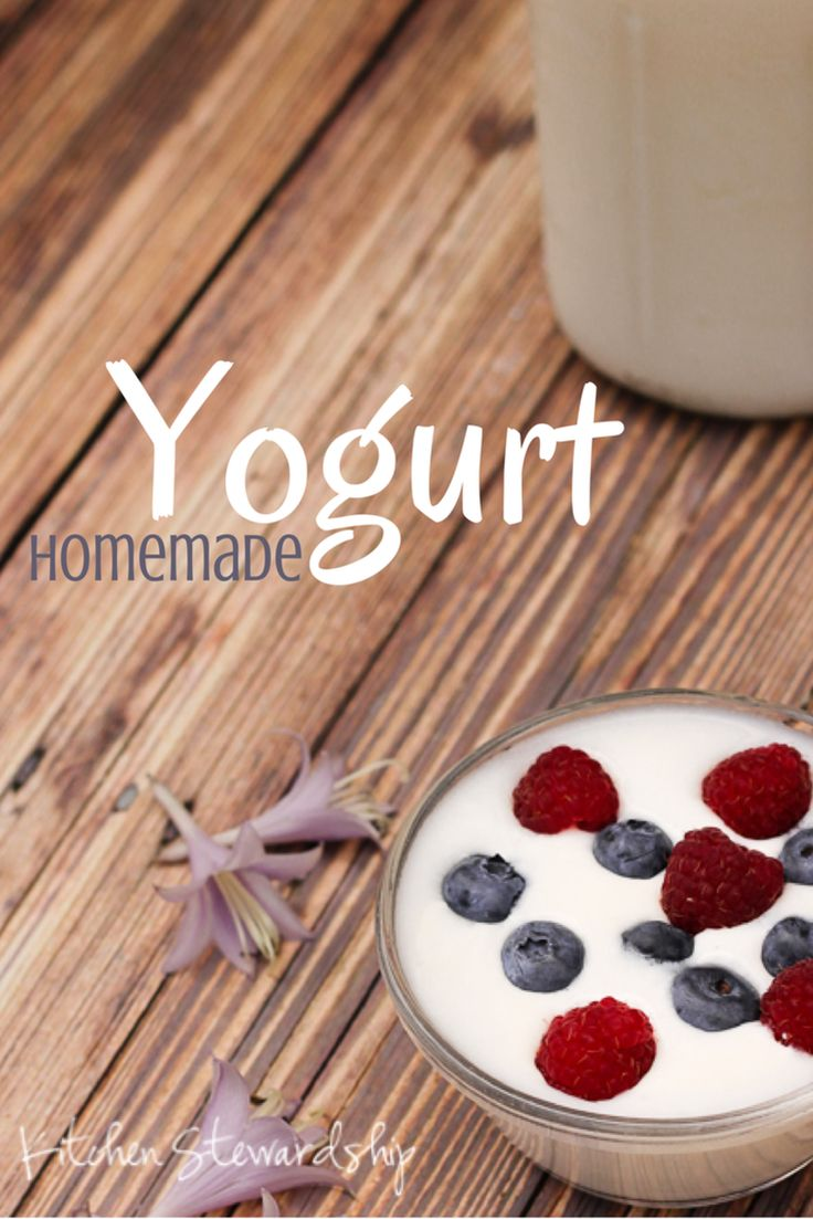 Making Homemade Yogurt: Easy Picture Tutorial