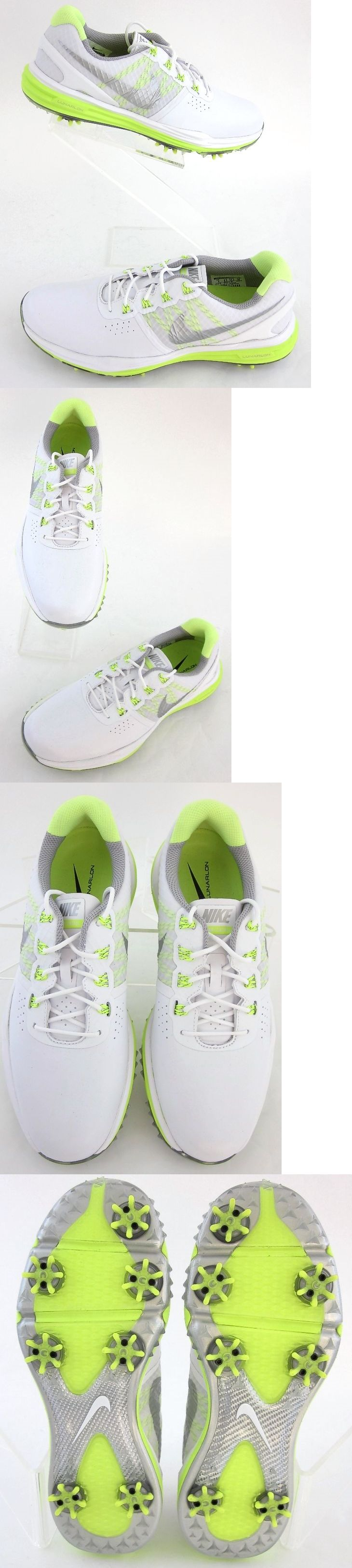 Golf Shoes 181147: New! Nike Lunar Control 3 Womens Golf Shoes White Volt Pick Size Includes Wides -> BUY IT NOW ONLY: $57 on eBay!