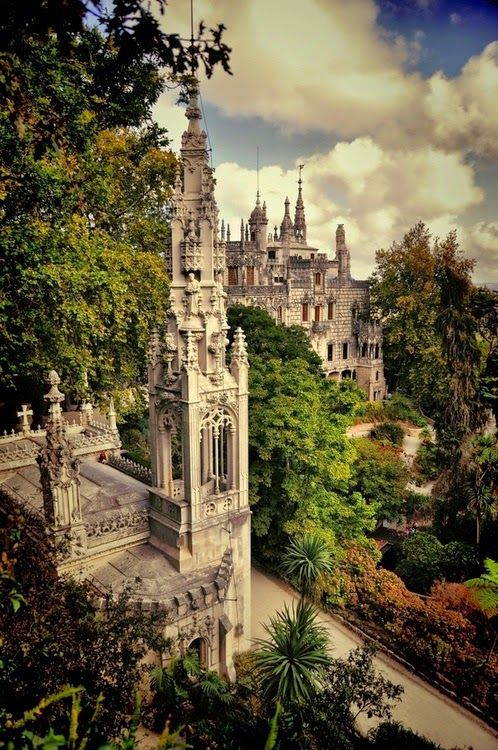 """Quinta da Regaleira Sintra, Portugal Quinta da Regaleira is an estate located near the historic center of Sintra, Portugal. It is classified as a World Heritage Site by UNESCO within the """"Cultural Landscape of Sintra""""."""