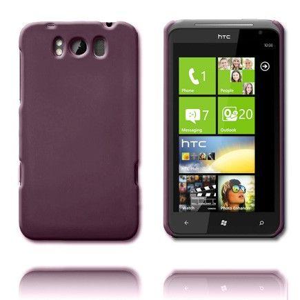 Hard Shell (Mørk lilla) HTC Titan Cover