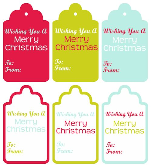 11 best Printable Gift Tags images on Pinterest Free printable - christmas gift card templates free