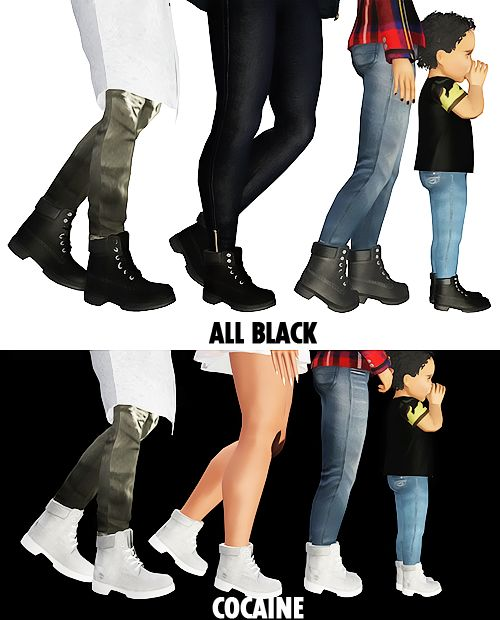 Girls Club, Bad Girls, All Black, Season 1, Sims 3, The Sims, Link, Shoes,  Fashion