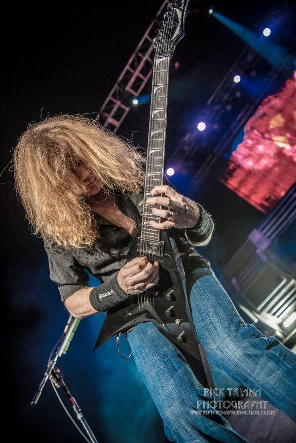Dave Mustaine, Phoenix AZ, Feb. 27, 2016