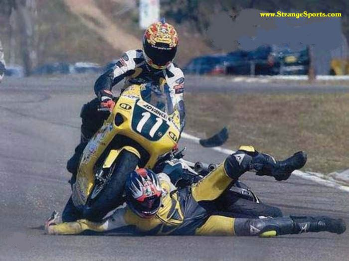Best Racing Accident Images On Pinterest Motogp Sports And