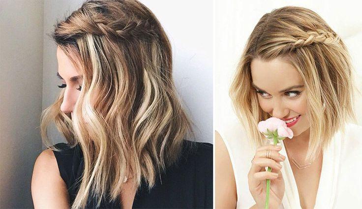 Top 5: Ideias de Penteados para quem tem cabelo curto