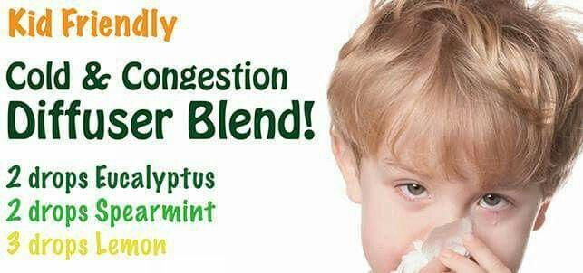 Kid Friendly Cold & Congestion Diffuser Blend