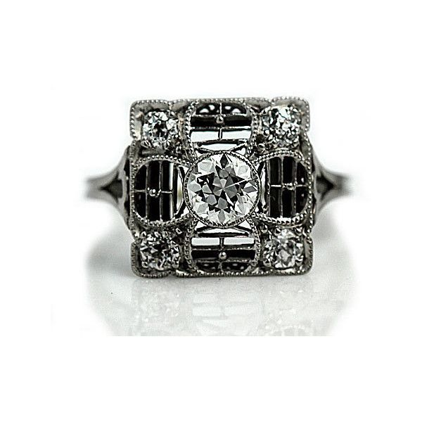 25 best ideas about Square engagement rings on Pinterest