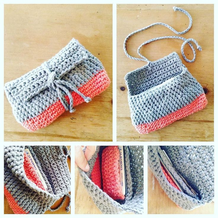 Loving the #colorblock #crochet wallet I made for myself. Didn't follow a pattern just hooked along as usual. The inside has a little divider with a pocket for my i.d. & cards on one side. On the other side I place my bills and receipts. #crochetwallet #crochetcrowd #whatsonmyhook #crochetersofinstagram #crocheters #cottonyarn #makeit #crochetlove #crocheted #crochetlover #crochettwist #crocheteveryday #crochetconcupisence by love2_bloom