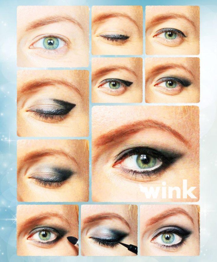Wink - Beauty - Makeup - Linkovy efekt na ovisnute viecka? Ziadny problem!