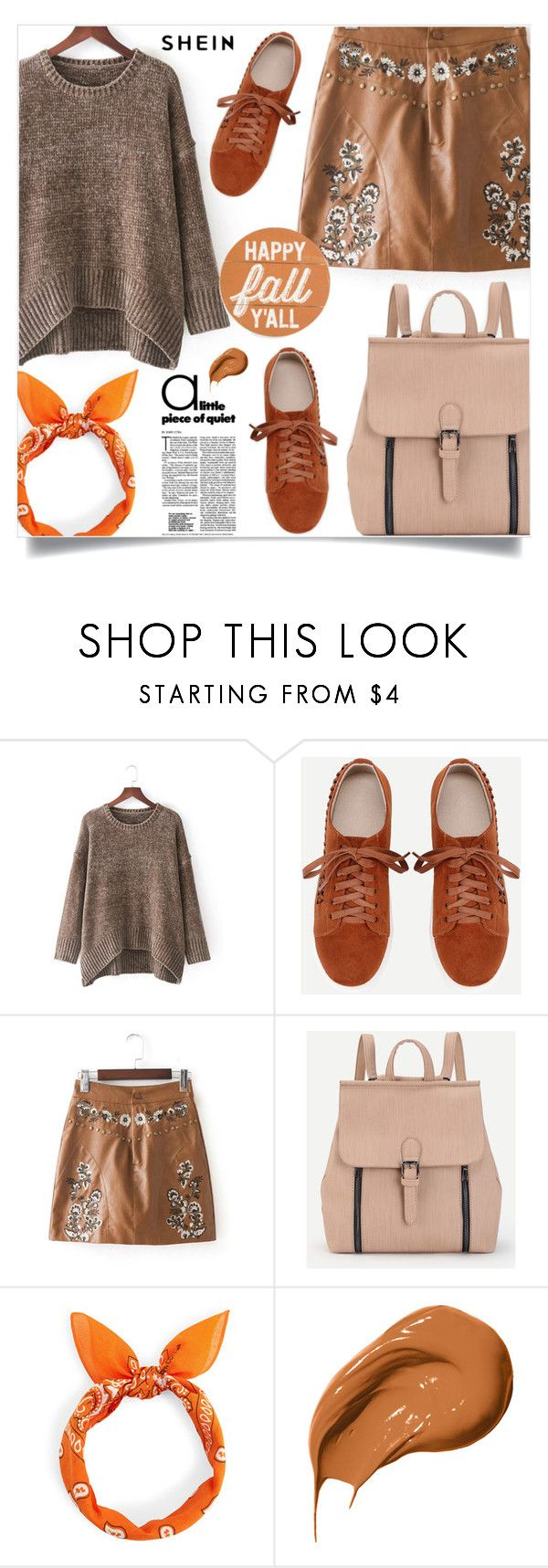 """Happy fall y'all!"" by samra-bv ❤ liked on Polyvore featuring Bobbi Brown Cosmetics"