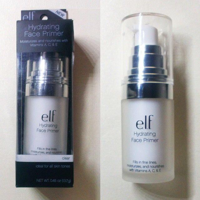 Elf Studio Hydrating Face Primer -a BEST rating on Beautypedia :) For Normal to dry skin.