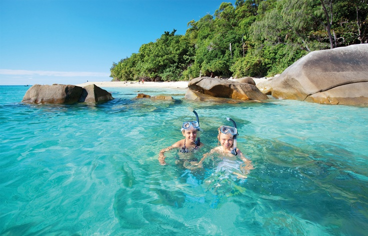 Loving life out at Fitzroy Island...