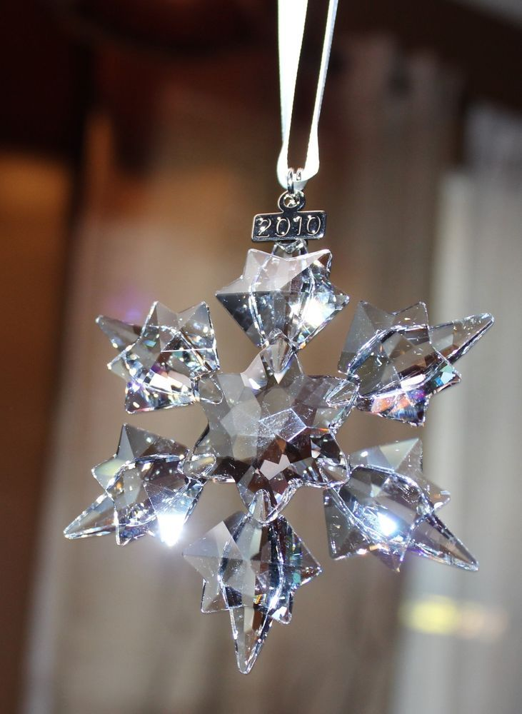 Swarovski Christmas Ornament 2010