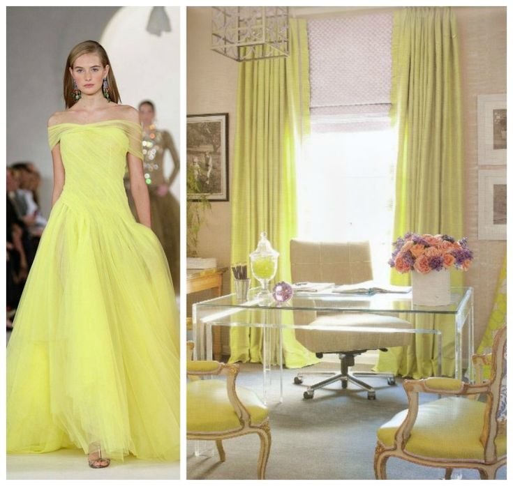 Pantone Colors: Fashion + Home Office Paired For Inspiration