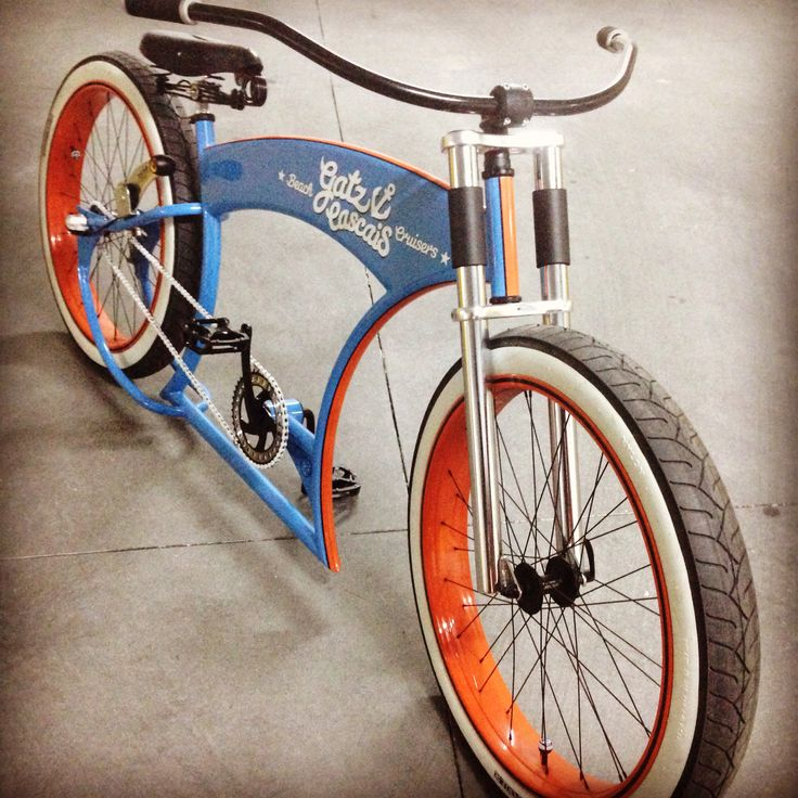 gatz cascais 3 speed custom cruiser with ruff cycles frame