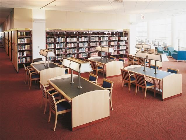Central Michigan University Library Compact Shelving Storage Esaver Corporation