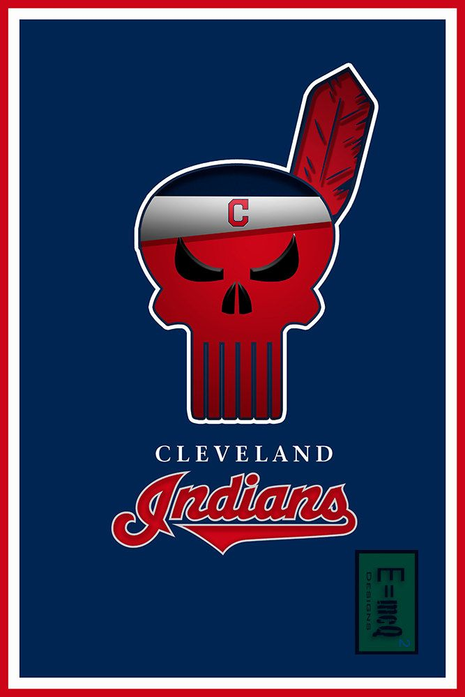 A personal favorite from my Etsy shop https://www.etsy.com/listing/265835616/cleveland-indians-art-cleveland-indians