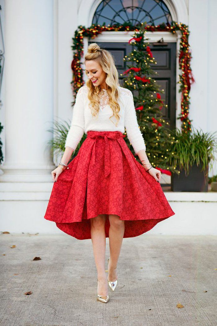 134dd036674a4 ▷ 1001 + idées pour trouver la meilleure tenue de Noël pour femme ...