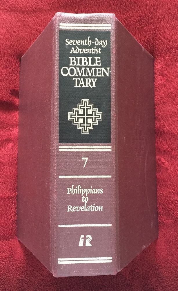 The 25 best sda bible commentary ideas on pinterest sabbath sda seventh day adventist bible commentary vol 7 1980 review and herald revision fandeluxe Gallery