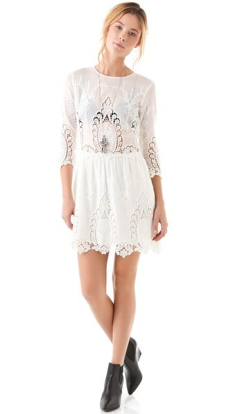 fb30adb0973 We re Dreaming of a White Christmas - Dolce Vita Valentina Lace Dress
