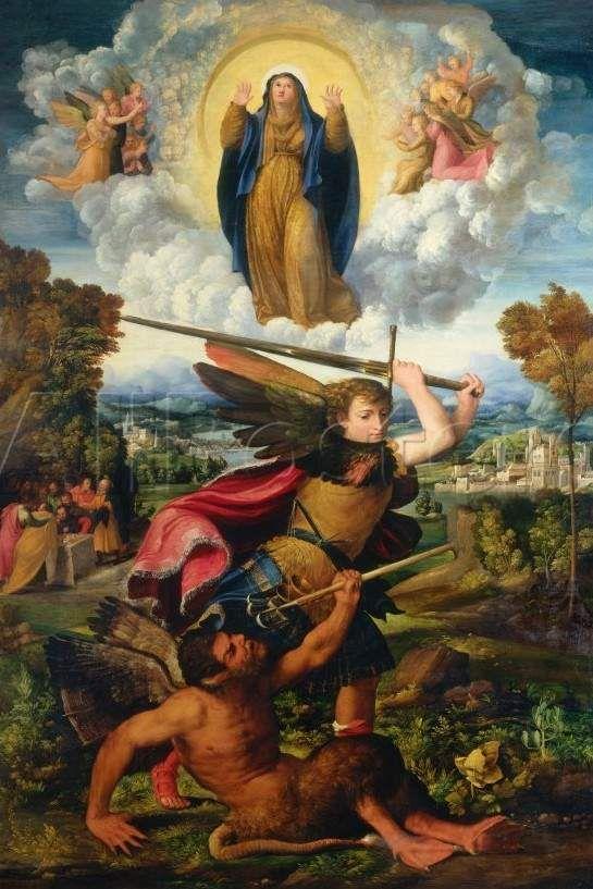 O Segredo do Rosário: São Miguel Arcanjo