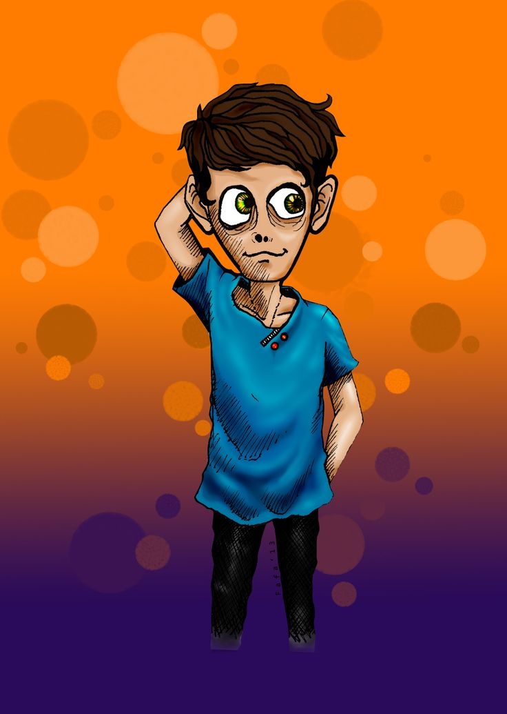 My figure in cartoon