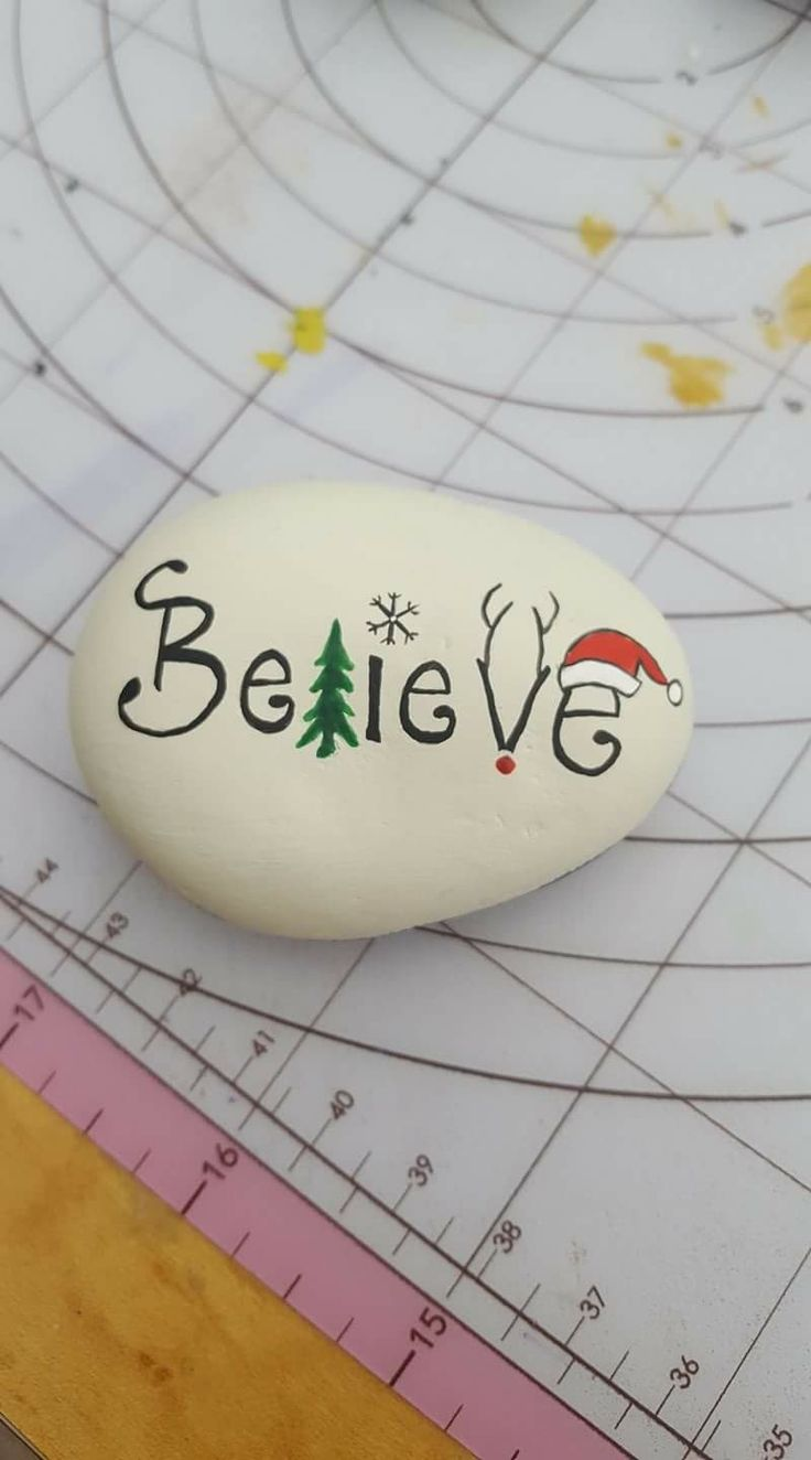I'd love this painted on a bauble .... yet ANOTHER craft thing on my list then