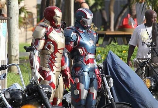 New set photos from the North Carolina set of Iron Man 3