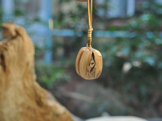 Eye Olive Wood Necklace, Unique Handmade Pendant, Olive Wood Necklace, Elegant Necklace, Gift For Her, Jewellery Pentand, Handmade Jewelry