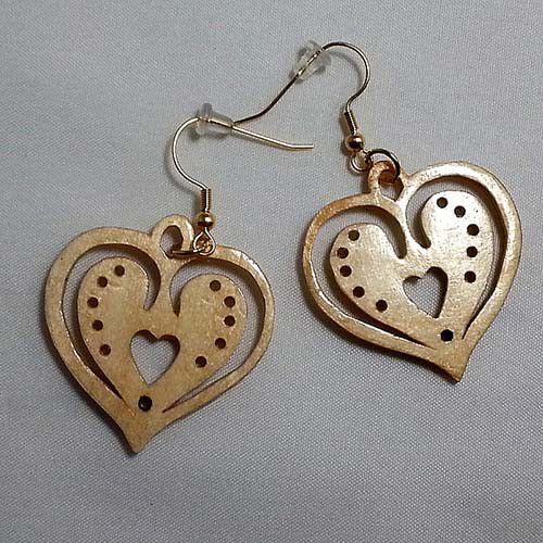Heart Earrings #30