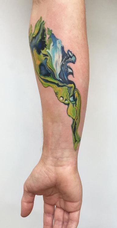 Bird Half Sleeves Watercolor Tattoo With Flowers: 106 Best Images About Watercolor Tattoos On Pinterest