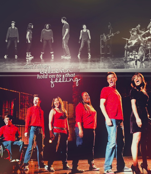 That was probably one of my favorite moments on the show. It really has that original glee feeling that I loved from season 1.