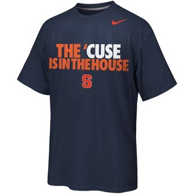 Nike Syracuse Orange The 'Cuse Is In The House Local T-Shirt - Navy Blue