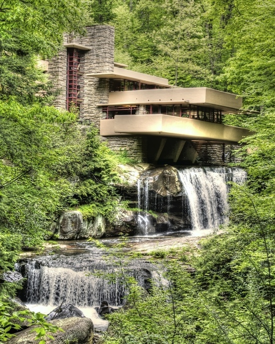 Awesome Images Frank Lloyd Wright 39 S Fallingwater In