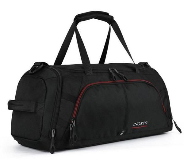 5474566c82a INOXTO Fitness Sport Small Gym Bag with Shoes Compartment Waterproof Travel  Duffel Bag for Women and Men