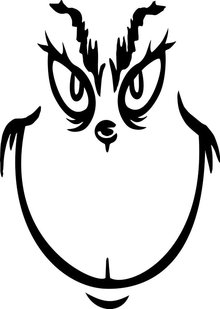 Image result for printable grinch face template   Grinch ...