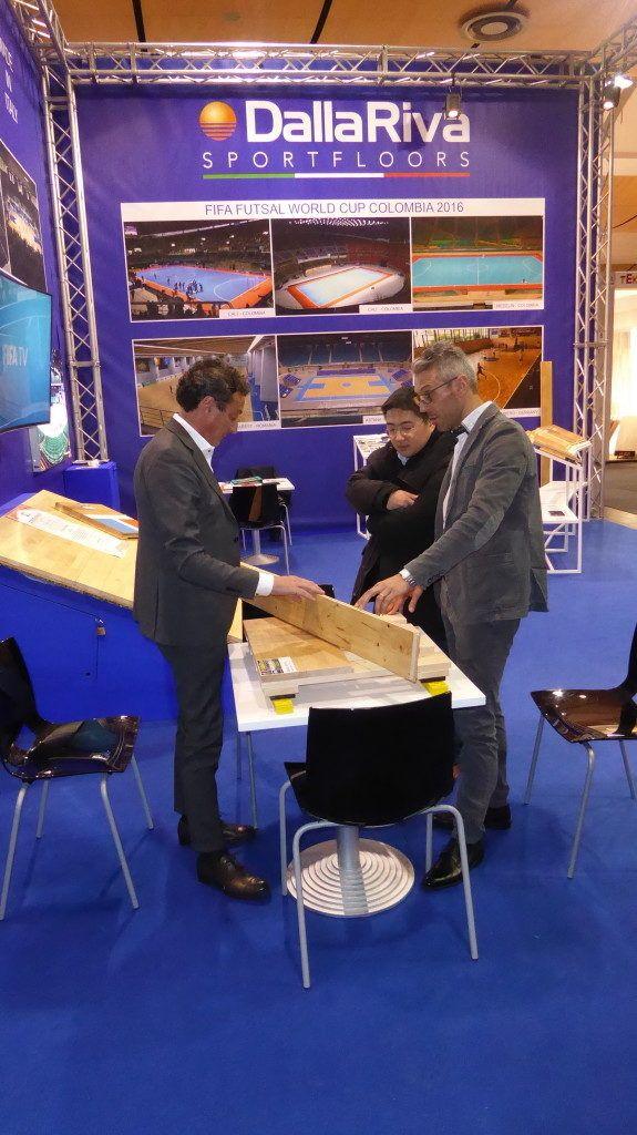 #domotex #2017 #hannover #germany #trade  #fair #wood #flooring #sportsfloors #sportsflooring #parquet #sportsparquet