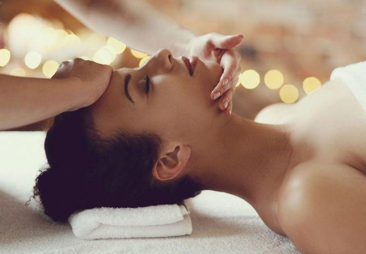 53854922 - leisure. woman in spa salon