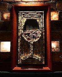 Korkowo - wine  glass made of wine corks  #wine #cork