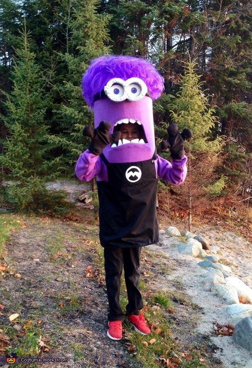 Purple Minion - 2015 Halloween Costume Contest via @costume_works