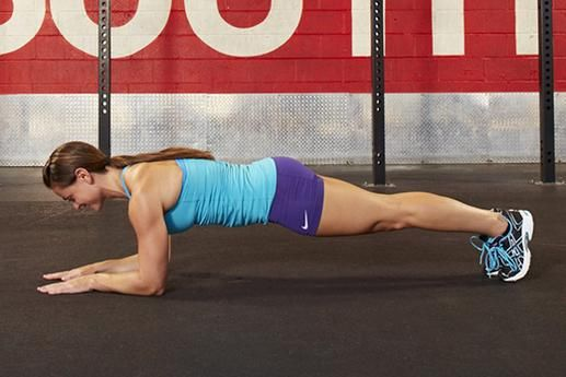 4. Front Plank