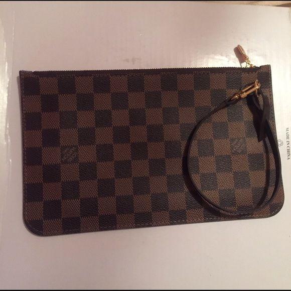 Louis Vuitton wristlet New without tags Louis Vuitton Bags Clutches & Wristlets