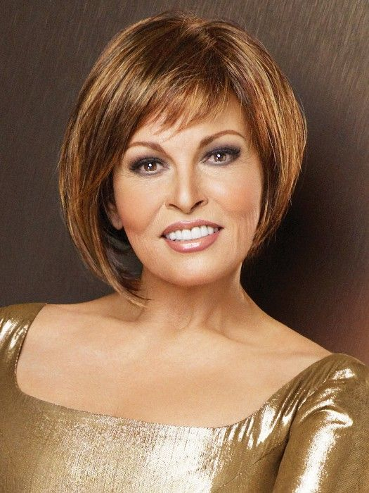 Bewitched by Raquel Welch: Color R3329S+ Glazed Auburn (Rich Dark Reddish Brown with  Pale Peach Blonde highlights)