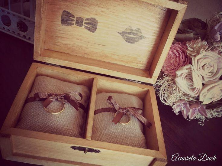 Porta Anillos Boda #anillos #boda #detalles