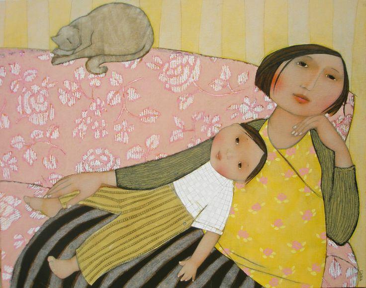 La sieste du chat - Cécile Veilhan