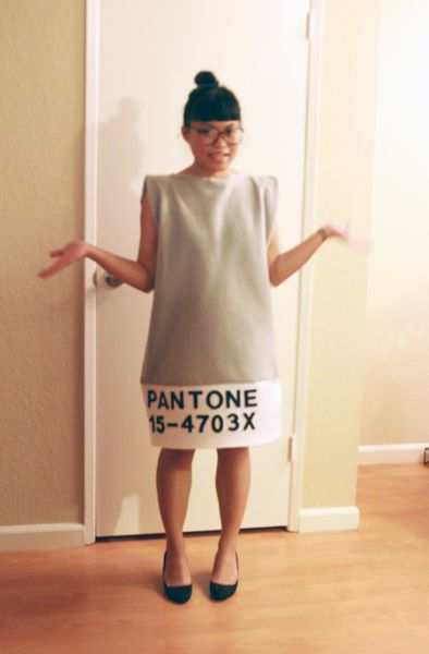 How adorable is this Pantone Halloween costume?!