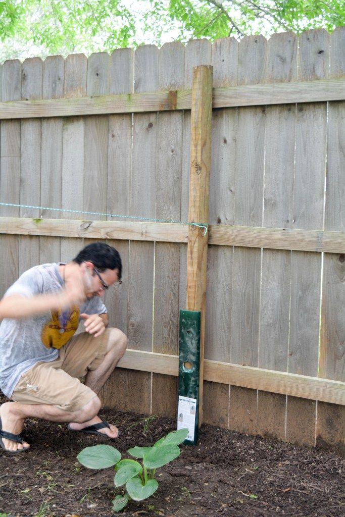 Best 25 Fence Post Repair Ideas On Pinterest Setting